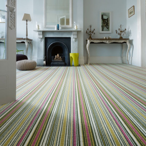 Crucial Trading Biscayne Stripes Carpet