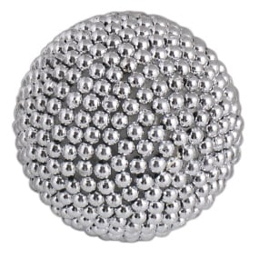 Decorative Silver Pearl Ball