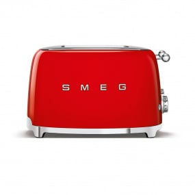 Smeg 50's Retro Style Red 4x4 Slice Toaster