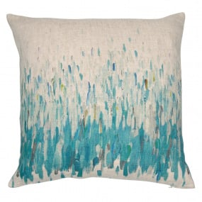 Malini Deep Splash Teal Cushion