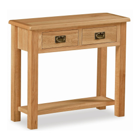 Dorset Light Oak Console Table