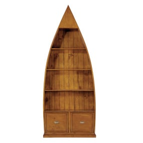 Meridien Reclaimed Wood Dinghy Bookcase