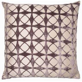 Spiral Blush Grey Cushion