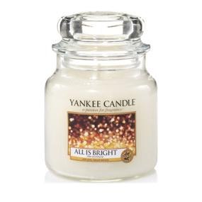 Yankee Candle All is Bright Medium Jar