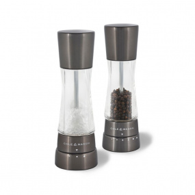 Cole & Mason Gourmet Precision Derwent Gun Metal Salt and Pepper Mill Set