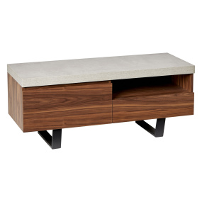 "Levante Walnut TV Unit for up to 60"" TVs"