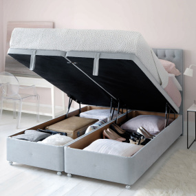 Hypnos Ortho Supreme Cashmere SuperStorage Ottoman Bed Collection