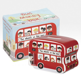 Wheels On The Bus Money Box