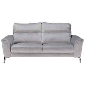Bellini Grey Fabric 3 Seater Sofa - Front | Housing Units