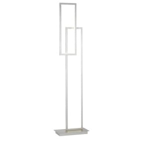 Wofi Viso Nickel LED Floor Lamp