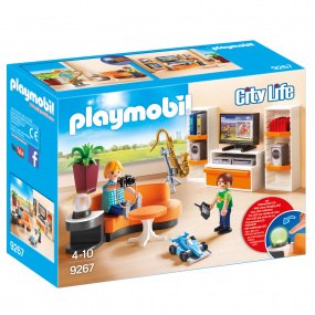 Playmobil City Life Living Room