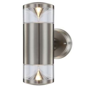 Carme LED Stainless Steel Outdoor Wall Light
