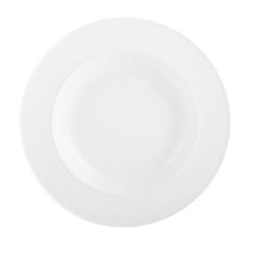 M By Mikasa Whiteware Ridged Soup Plate