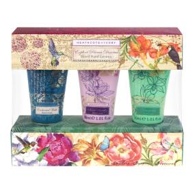 Heathcote and Ivory Vintage & Co Patterns and Petals Mini Hand Creams