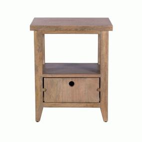 Milton Mango Wood Lamp Table