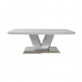 Vigo High Gloss Grey Coffee Table