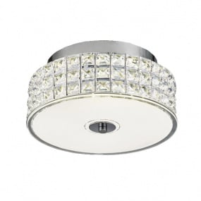 Hawthorne Small Round Flush Ceiling Light