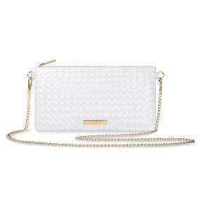 Katie Loxton Freya White Crossbody Bag