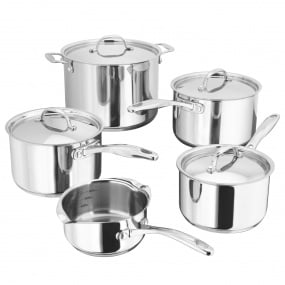 Stellar 7000 Stainless Steel 5 Piece Pan Set