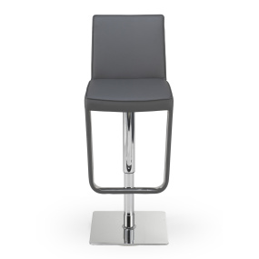 Naples Grey Bar Stool