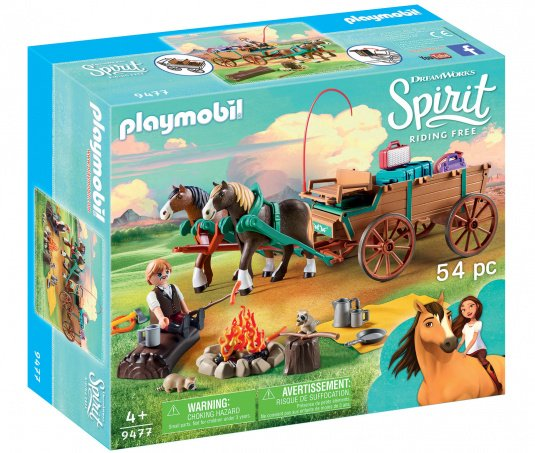 Playmobil Lucky's Dad and Wagon