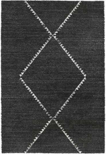 Mehari Charcoal Berber 160cm x 230cm Rug