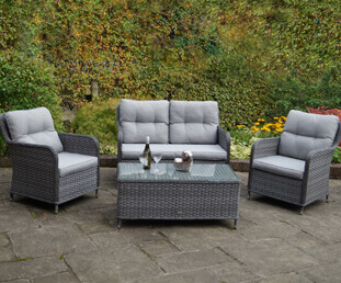 Relax in comfort and entertain friends and family with our garden sofa sets