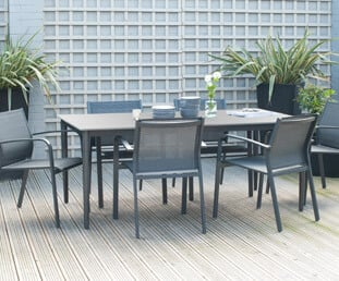 Browse our range of garden dining sets